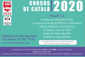Cursos de català 2020